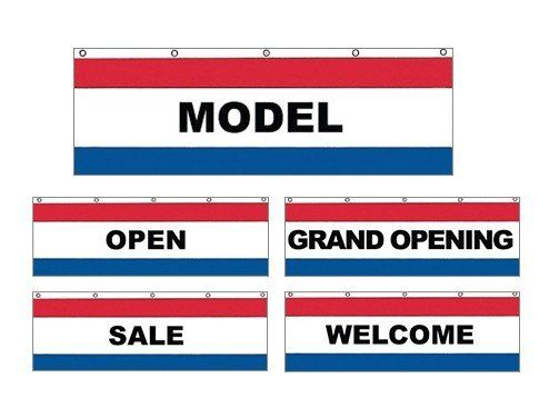 3' X 10' Nylon Message Banners