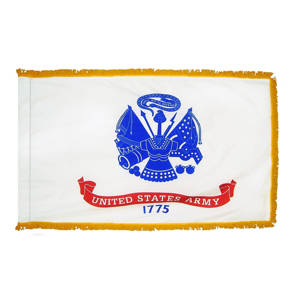 Indoor and Parade Army Flags