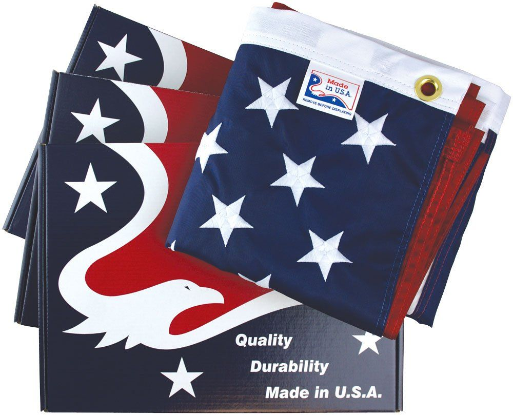 All-American All-Weather Nylon American Flags