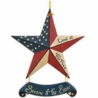Americana Christmas Decor