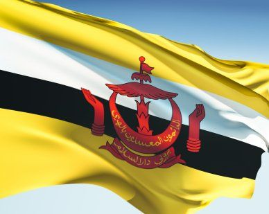 Brunei Flags