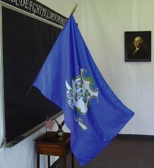 Connecticut State Classroom Flags