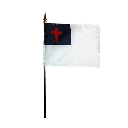 Christian Stick Flags
