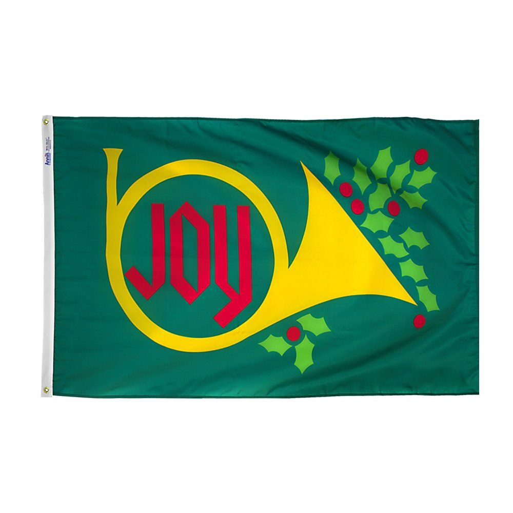 christmas winter flags and banners