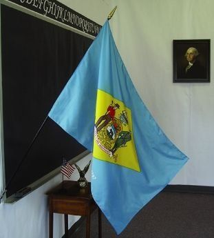 Delaware State Classroom Flags
