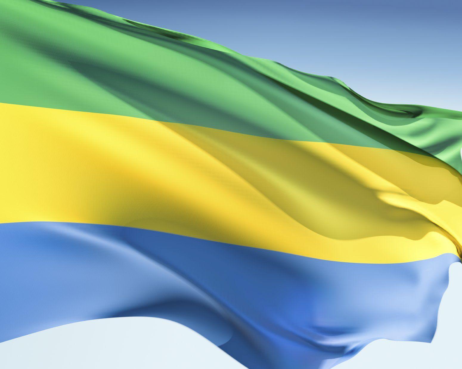 Gabon Flags