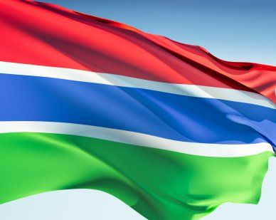Gambia Flags
