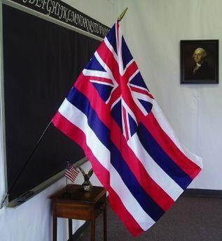 Hawaii State Classroom Flags