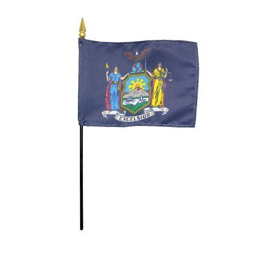 Handheld New York State Flags