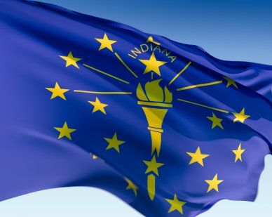 Indiana State Flags