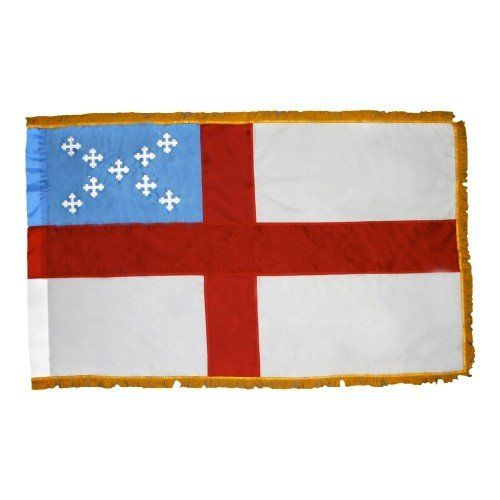 Indoor Fringed Episcopal Flags