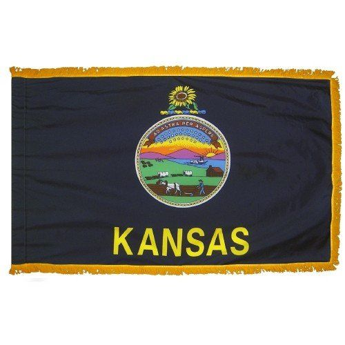 Indoor and Parade Kansas State Flags