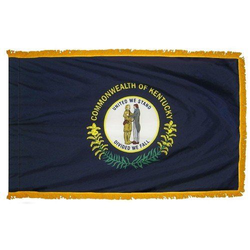 Indoor and Parade Kentucky State Flags