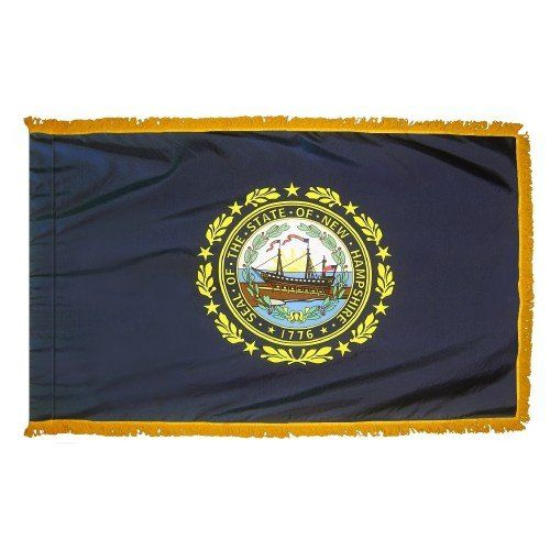 Indoor and Parade New Hampshire State Flags