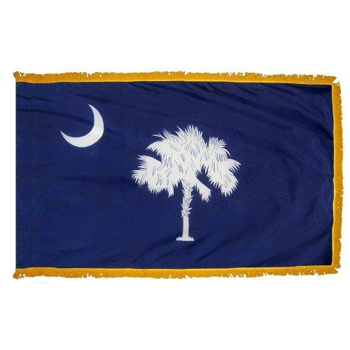Indoor and Parade South Carolina State Flags