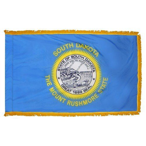 Indoor and Parade South Dakota State Flags