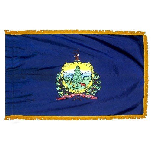 Indoor and Parade Vermont State Flags