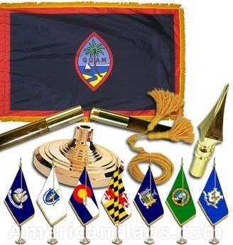 Indoor and Parade Guam Flags