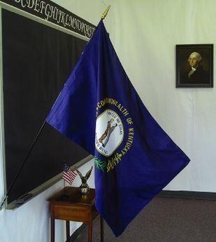 Kentucky State Classroom Flags
