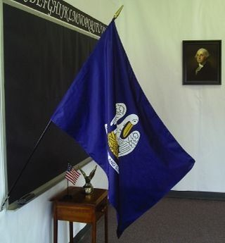 Louisiana State Classroom Flags
