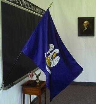 Louisiana State Classroom Flags