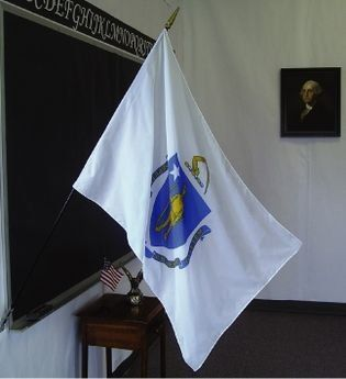 Massachusetts State Classroom Flags