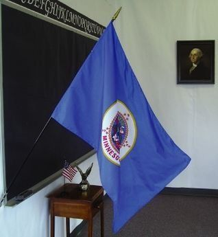 Minnesota State Classroom Flags