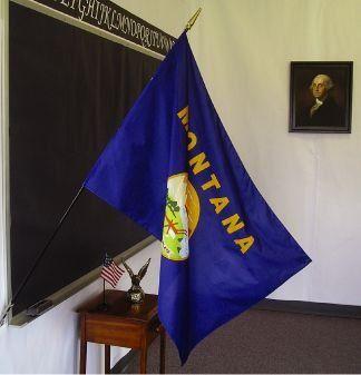 Montana State Classroom Flags