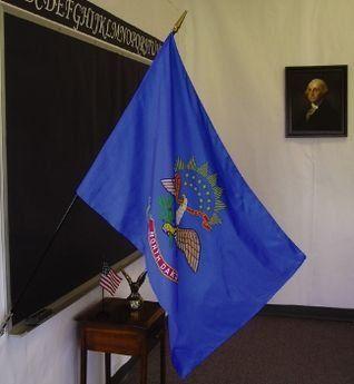 North Dakota State Classroom Flags