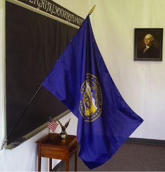 Nebraska State Classroom Flags