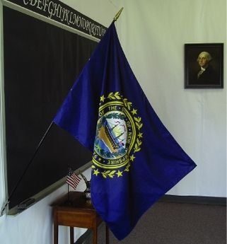 New Hampshire State Classroom Flags