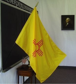 New Mexico State Classroom Flags