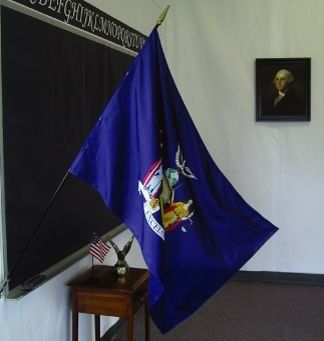 New York State Classroom Flags