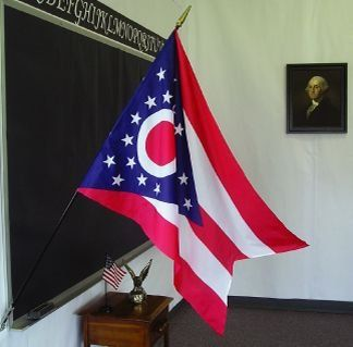Ohio State Classroom Flags