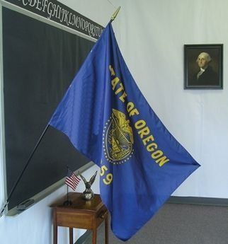 Oregon State Classroom Flags