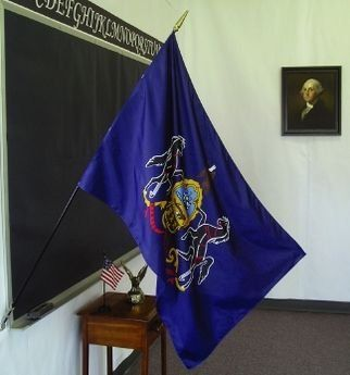 Pennsylvania State Classroom Flags