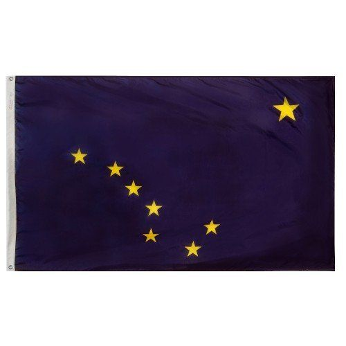 Premium Nylon Outdoor Alaska State Flags