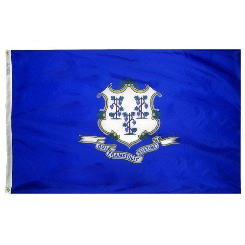 Premium Nylon Outdoor Connecticut State Flags