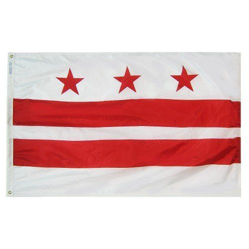 Premium Nylon Outdoor District of Columbia State Flags