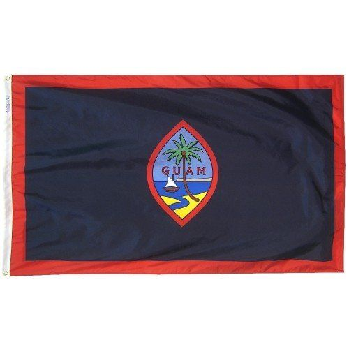 Premium Nylon Outdoor Guam Flags