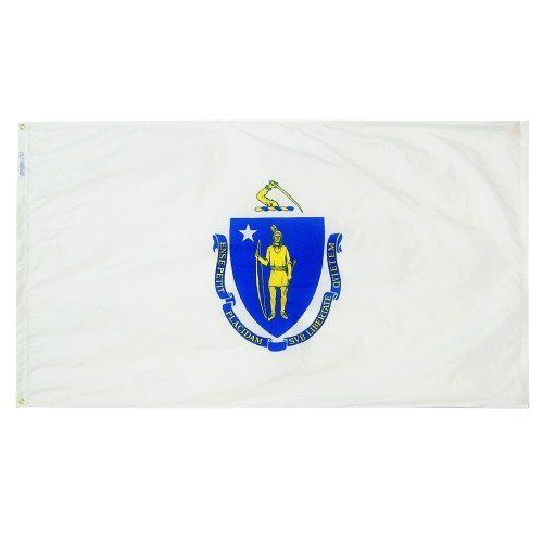 Premium Nylon Outdoor Massachusetts State Flags