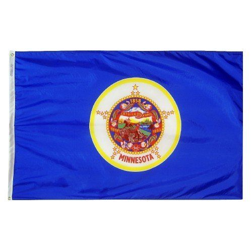 Premium Nylon Outdoor Minnesota State Flags