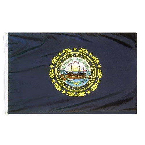 Premium Nylon Outdoor New Hampshire State Flags