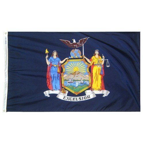 Premium Nylon Outdoor New York State Flags