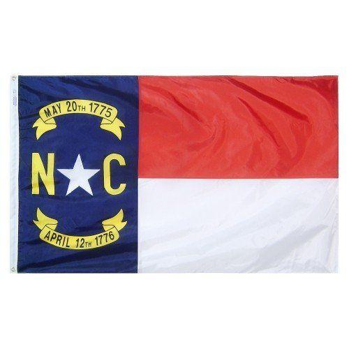Premium Nylon Outdoor North Carolina State Flags