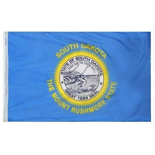 Premium Nylon Outdoor South Dakota State Flags