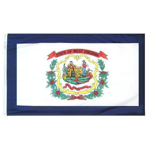 Premium Nylon Outdoor West Virginia State Flags