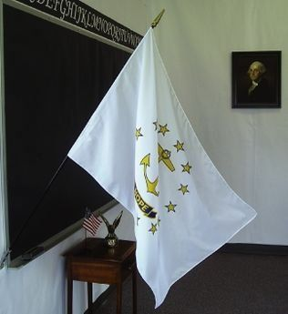 Rhode Island State Classroom Flags