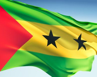 Sao Tome & Principe Flags