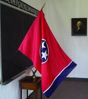 Tennessee State Classroom Flags